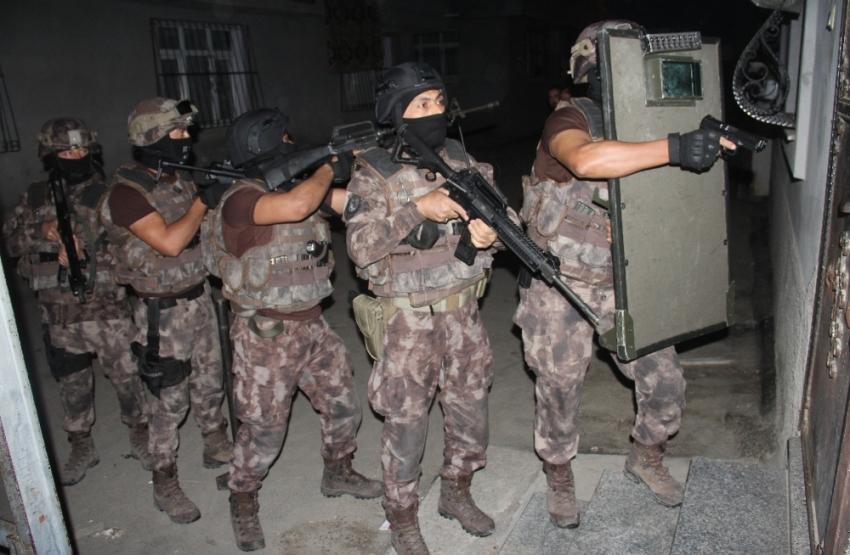 Konya'da dev silah operasyonu