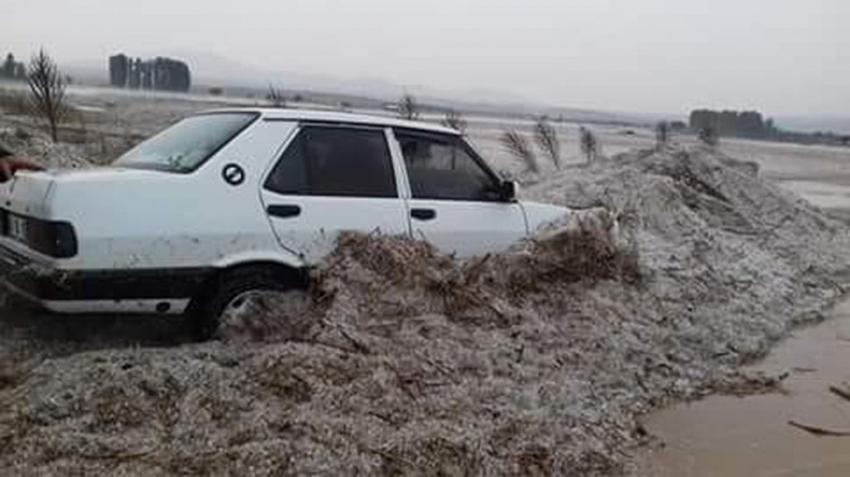 Eskişehir'de selin izleri gün ağarınca ortaya çıktı