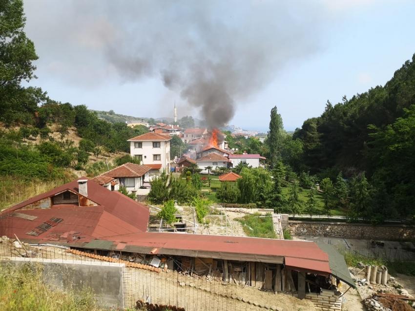 Mudanya'da yangın!