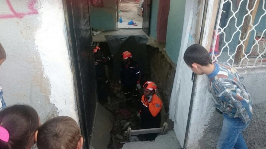 Konya'da evde göçük: 3 yaralı