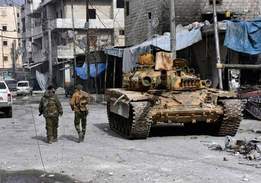 Halep'te silahlar sustu şimdi insanlık konuşacak...