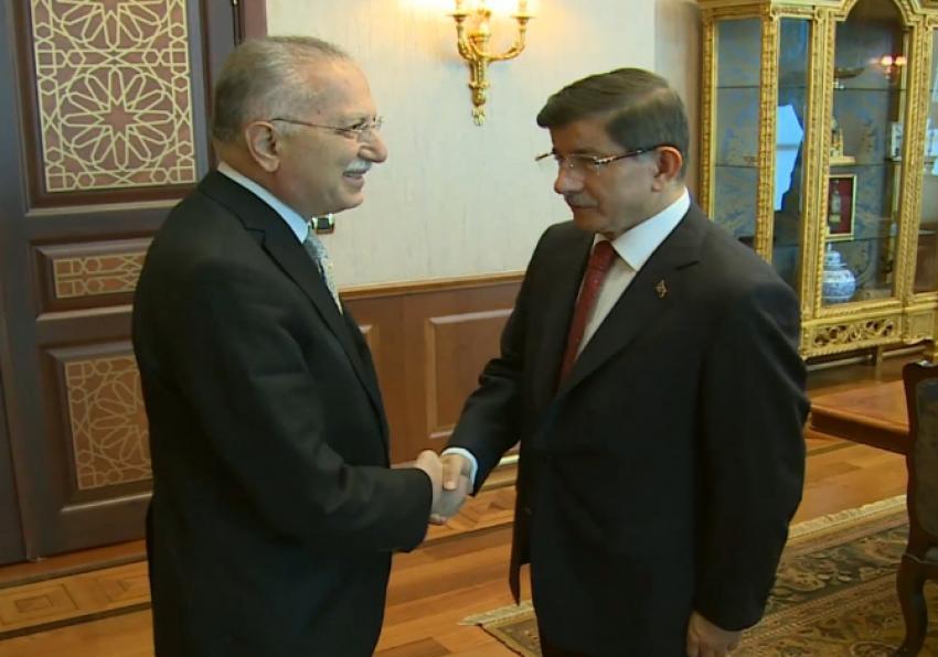 Meclis Başkanlığı adayları Başbakan'la görüştü