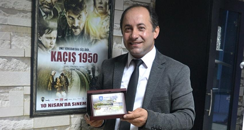 Bulgaristan'dan İhsan Taş'a 'Kaçış 1950' plaketi