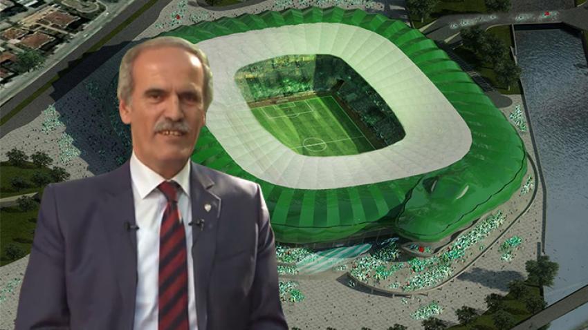 Yeni stadımız, Bursa'yı dünyaya tanıtacak