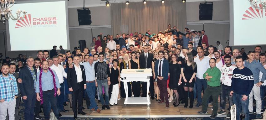 Chassis Brakes Bursa çalışanları Asena ile coştu