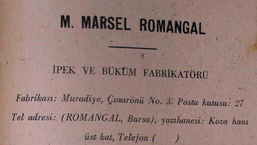 60 yıl önce Bursa zenginleri