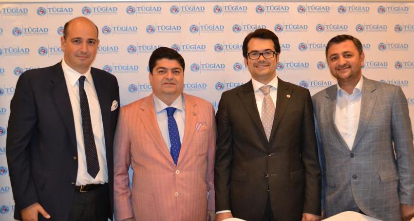 Tügiad Bursa üyeleri, Rahmi Çuhacı ile tanışma yemeğinde buluştu