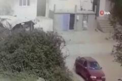 1 yaşındaki çocuğun feci ölümü güvenlik kameralarına yansıdı