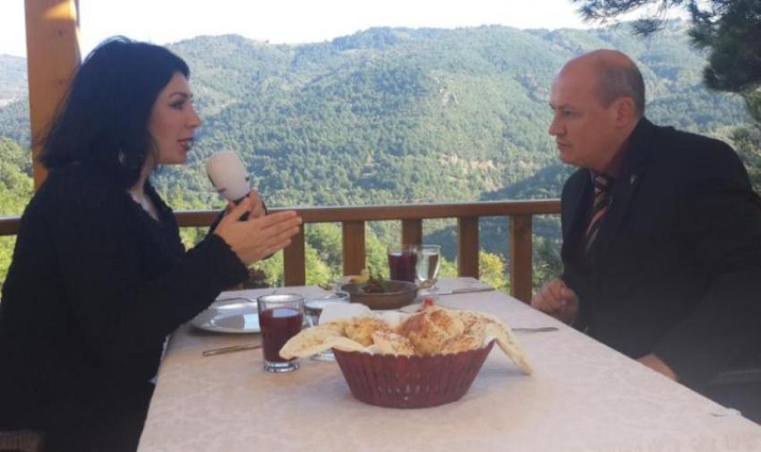 Kent Orman'ın eşsiz Bursa manzarasında yemek yemenin keyfi bir başka