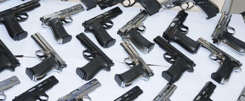 1 yılda 31 bin tabanca satıldı