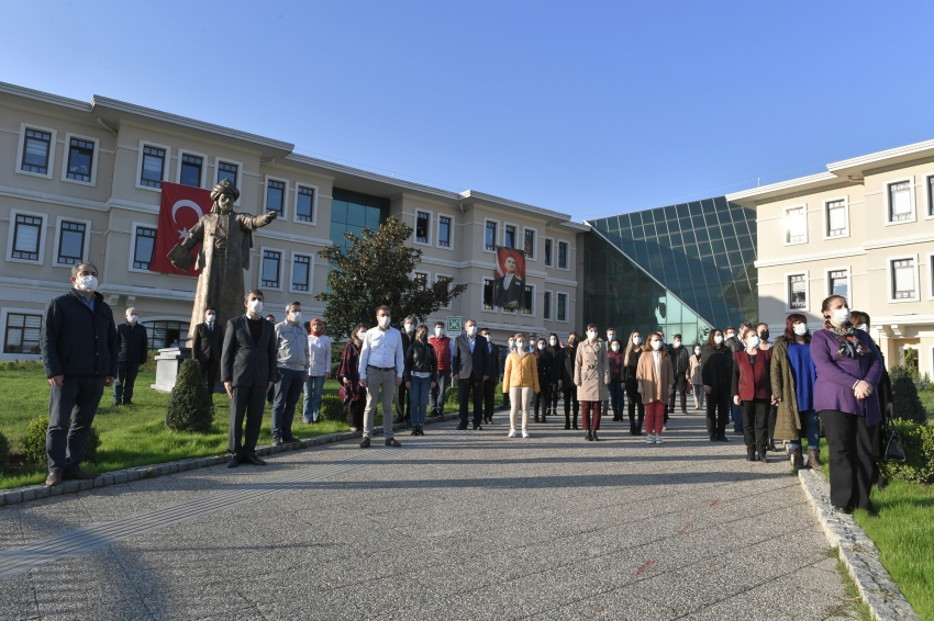 Osmangazi Belediyesi'nde Ata'ya saygı