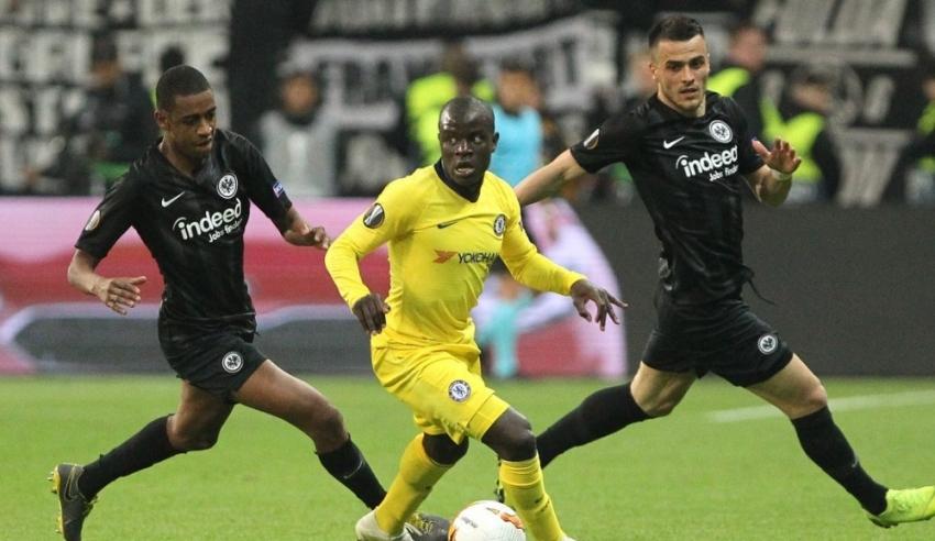 Eintracht Frankfurt 1-1 Chelsea