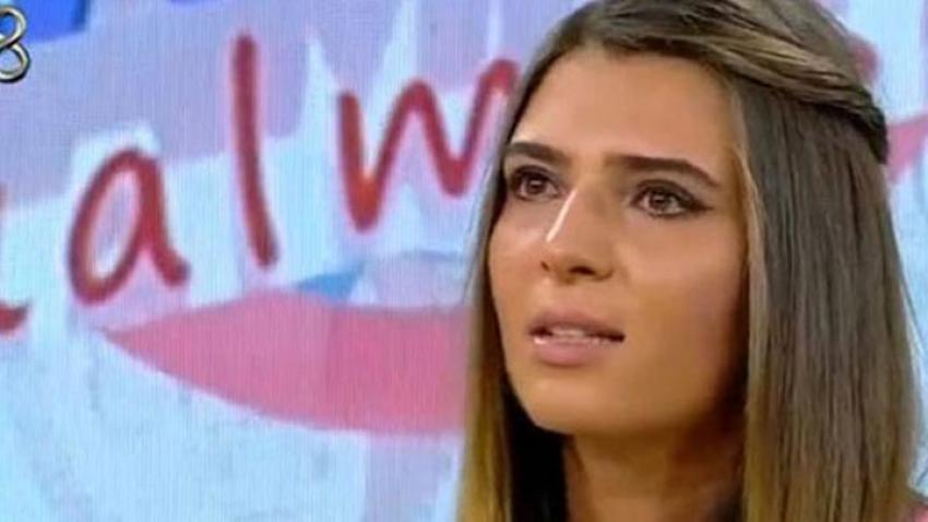 Merve Aydın gözyaşlarını tutamadı