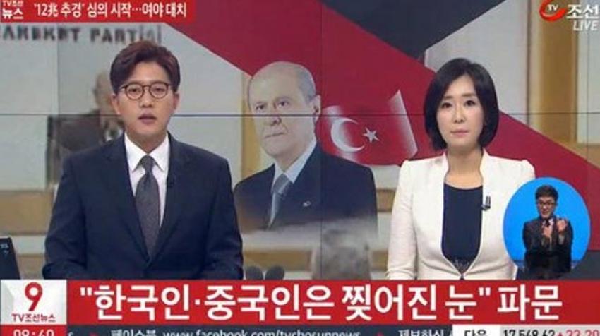 Bahçeli'nin açıklaması Güney Kore'de gündem oldu