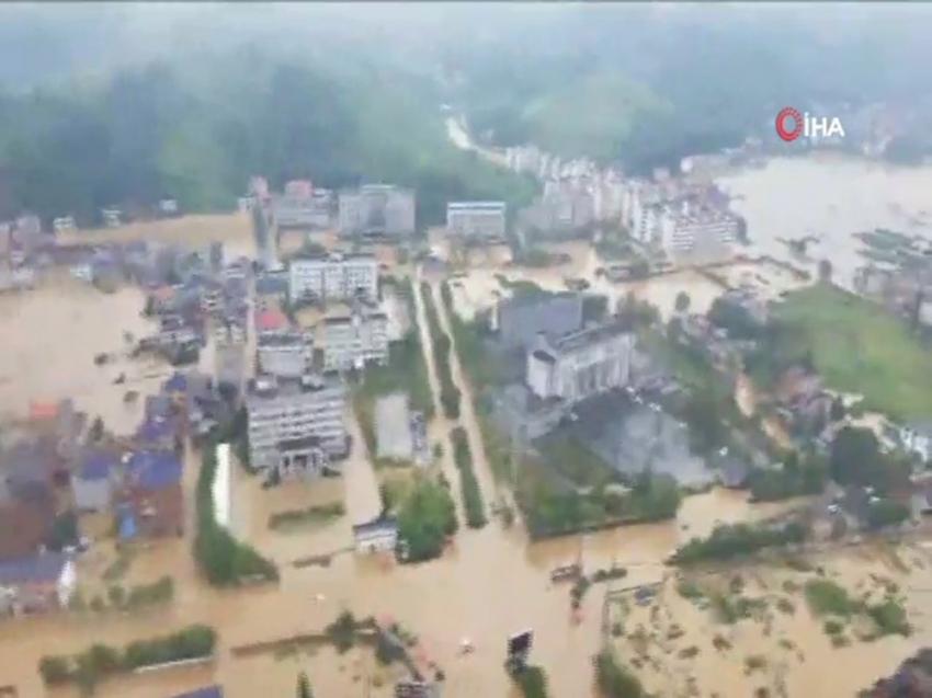 Çin'de sel felaketi: 3 ölü