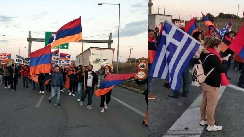 Yunan ve Ermeniler sınırımıza yürüdü