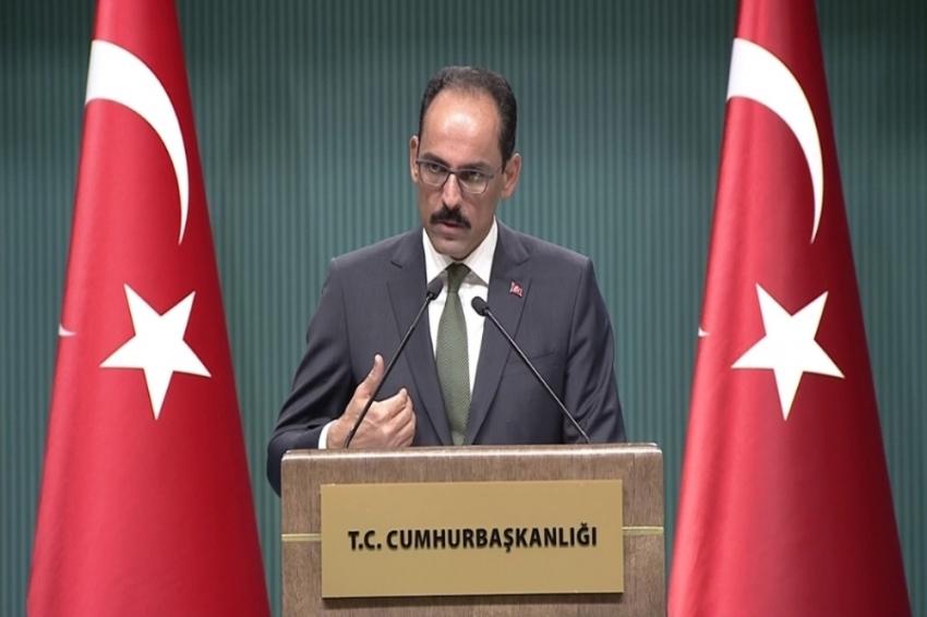 Katliama Ankara'dan ilk tepki