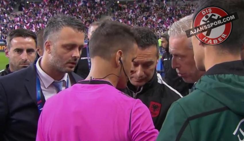 Fransa - Arnavutluk maçında milli marş krizi!