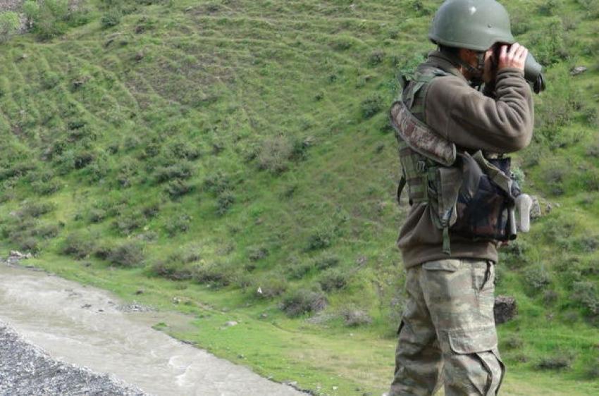 Askeri konvoya taciz ateşi