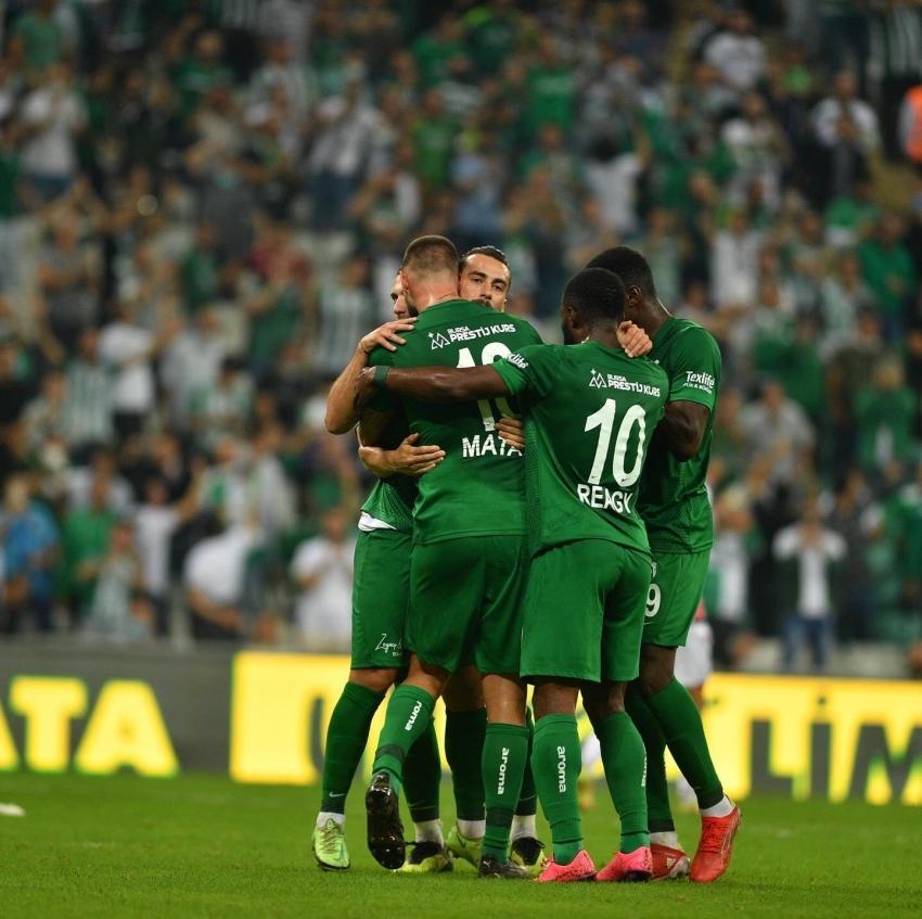 Bursaspor- Samsunspor maçından en özel kareler