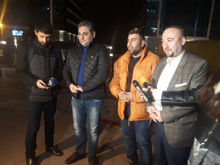 Tır'la yola çıkan CHP'li vekiller Ankara'da