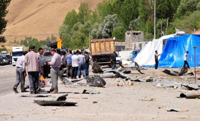 Karakola yapılan saldırı, bölgeyi savaş alanına çevirdi