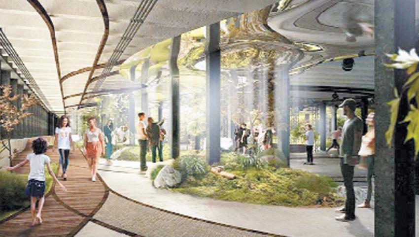 Dünyanın ilk yeraltı parkı açılıyor