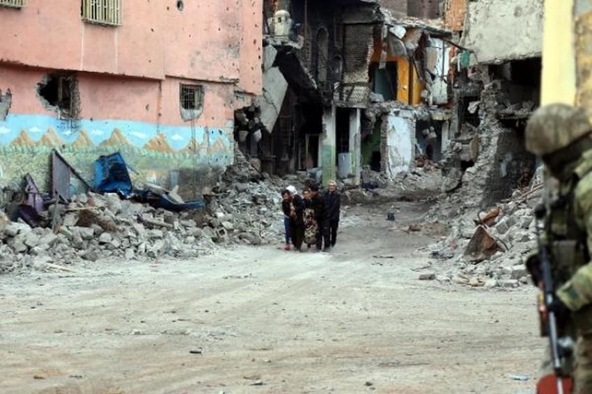 Diyarbakır operasyon bölgesinde tahliye