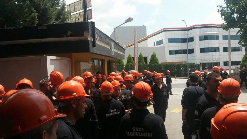 Bursa'da sıcak saatler! Ermetal şalter indirdi