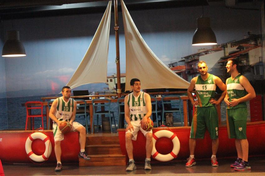 Bursaspor web.tv ofisinde
