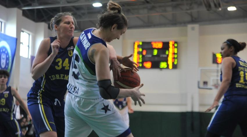 Büyükşehir Belediyespor farklı kazandı: 75-57