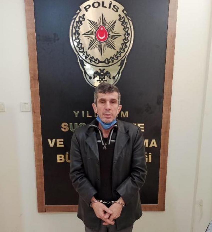 Her yerde aranıyordu Bursa'da yakalandı