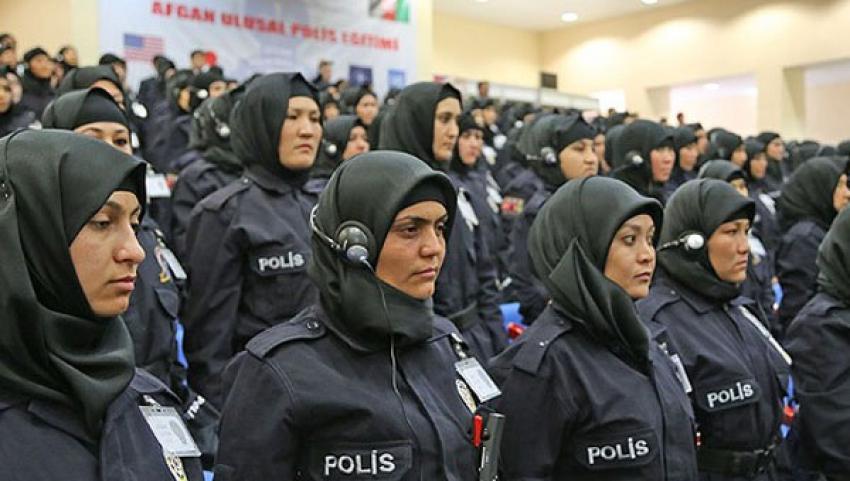 Afgan kadın polis adayları Sivas'ta eğitim görecek
