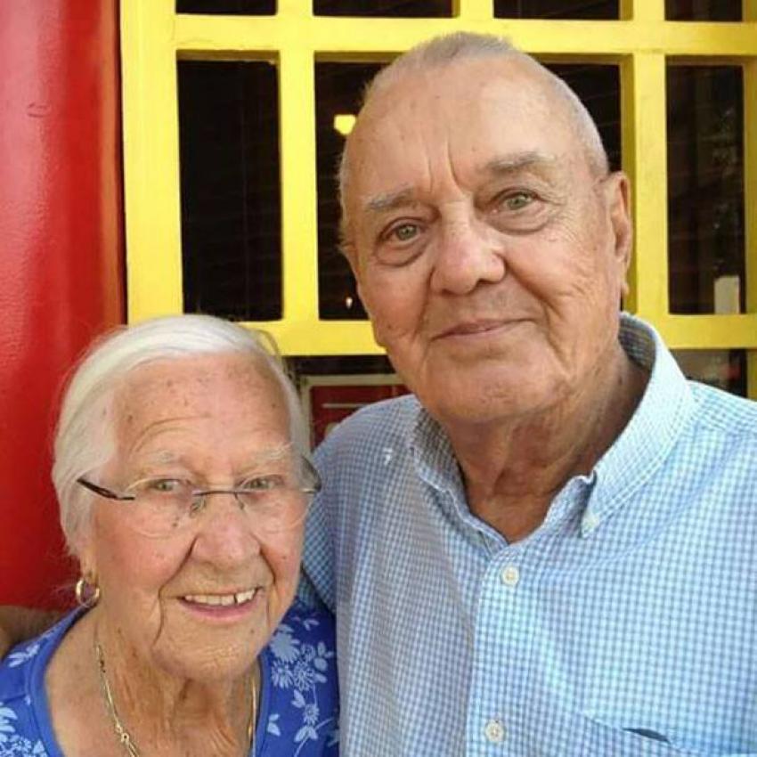 75 yıldır birlikte olan çiftin tek isteği birlikte ölebilmekti