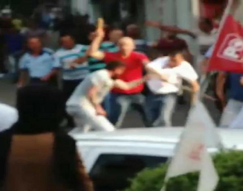 Bursa'da işportacı dehşeti