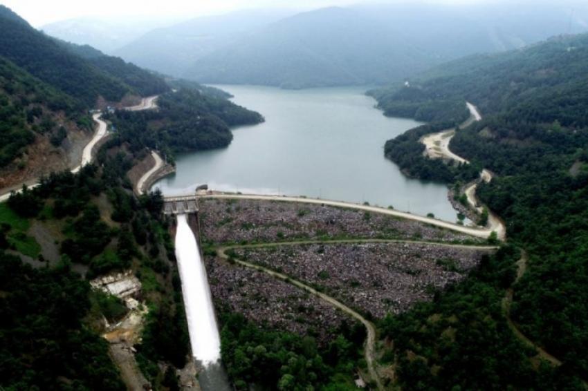Bursa'da Nilüfer Barajı su tutmaya başladı