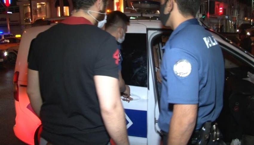 İstanbul'un göbeğinde sağa sola ateş açtılar