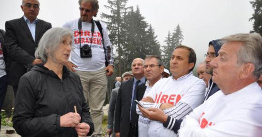 CHP'li vekillerden Cerattepe'ye destek