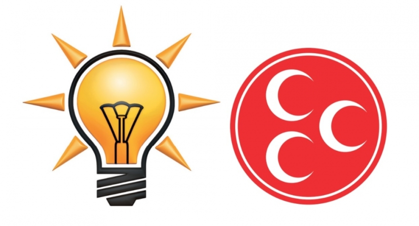 AK Parti ve MHP heyetleri bir araya geldi