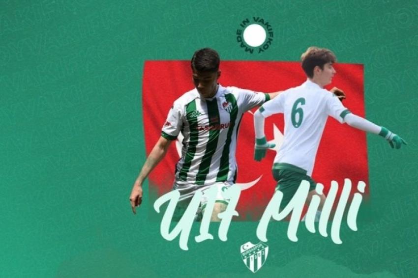 Bursaspor'dan 2 futbolca U17 Milli Takım'a davet edildi