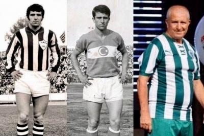 Bursaspor'un efsane futbolcularından Mesut Şen, kabri başında anıldı