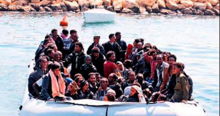 İtalya'ya 5 ayda 50 bin göçmen