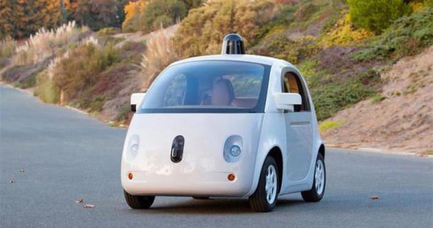 Teknoloji devi sürücüsüz  araba yaptı
