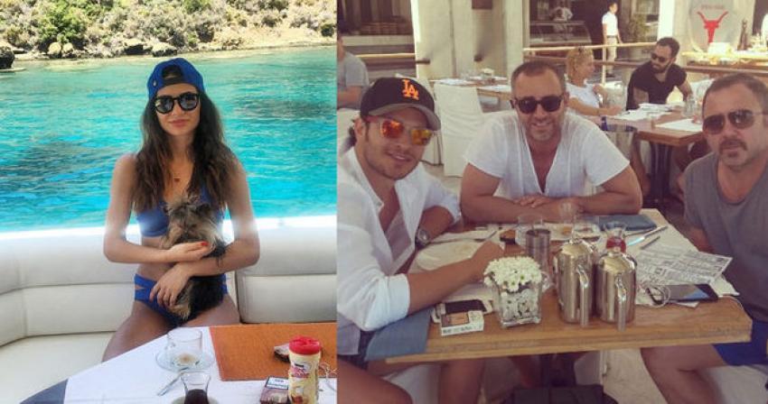 Çağatay Ulusoy'un gerçek sevgilisi ortaya çıktı