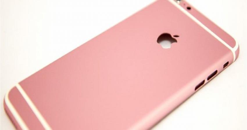 Pembe iPhone mu geliyor?