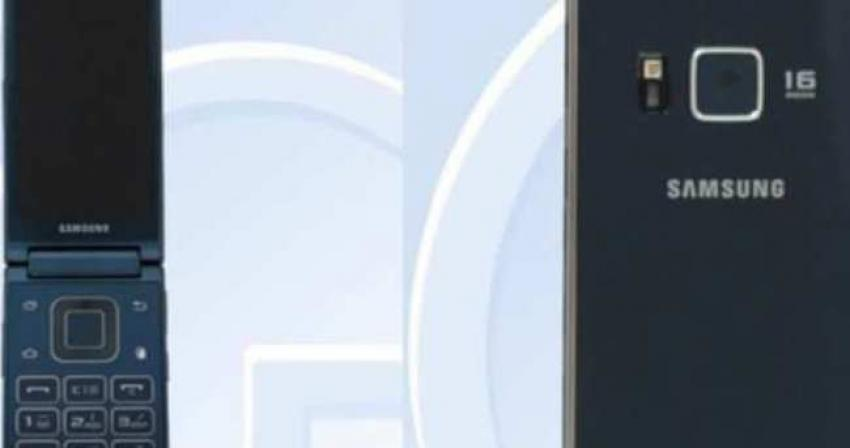Samsung'tan bir garip akıllı telefon!