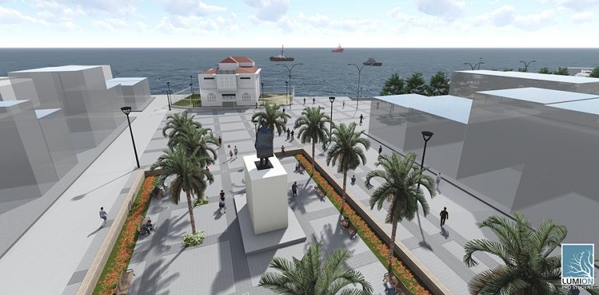 Mudanya Belediyesi Mütareke Meydanı'nı yeniliyor