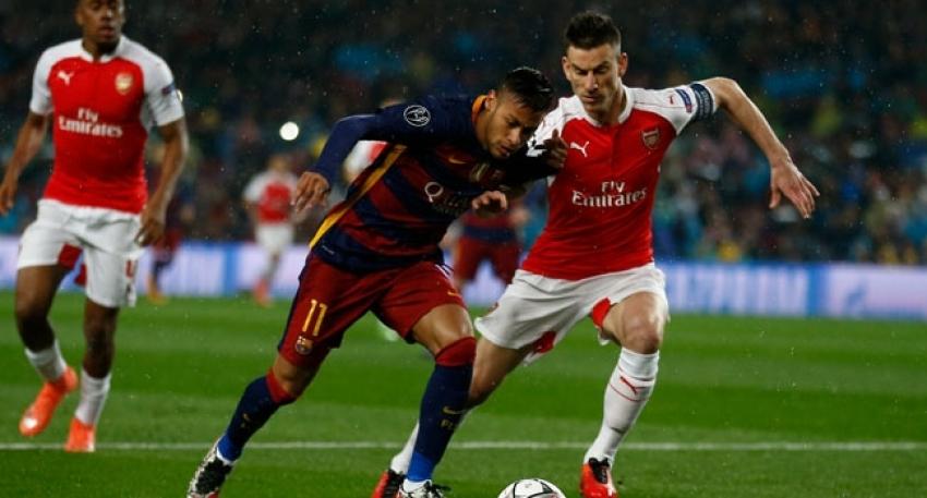 Barcelona MSN ile Arsenal'i yıktı
