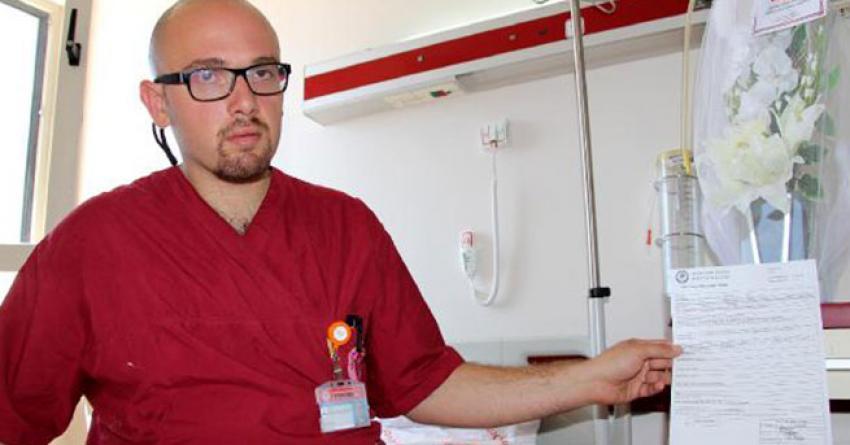 Asistan doktora doçentten şiddet iddiası