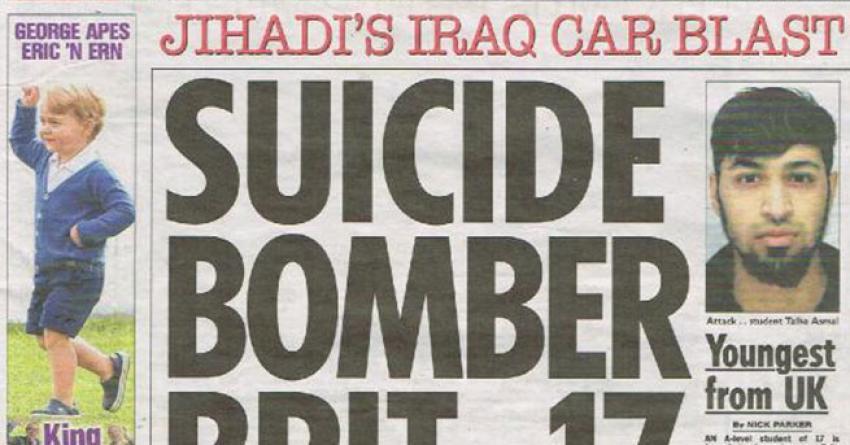 17 yaşındaki IŞİD militanı, İngiliz basınında